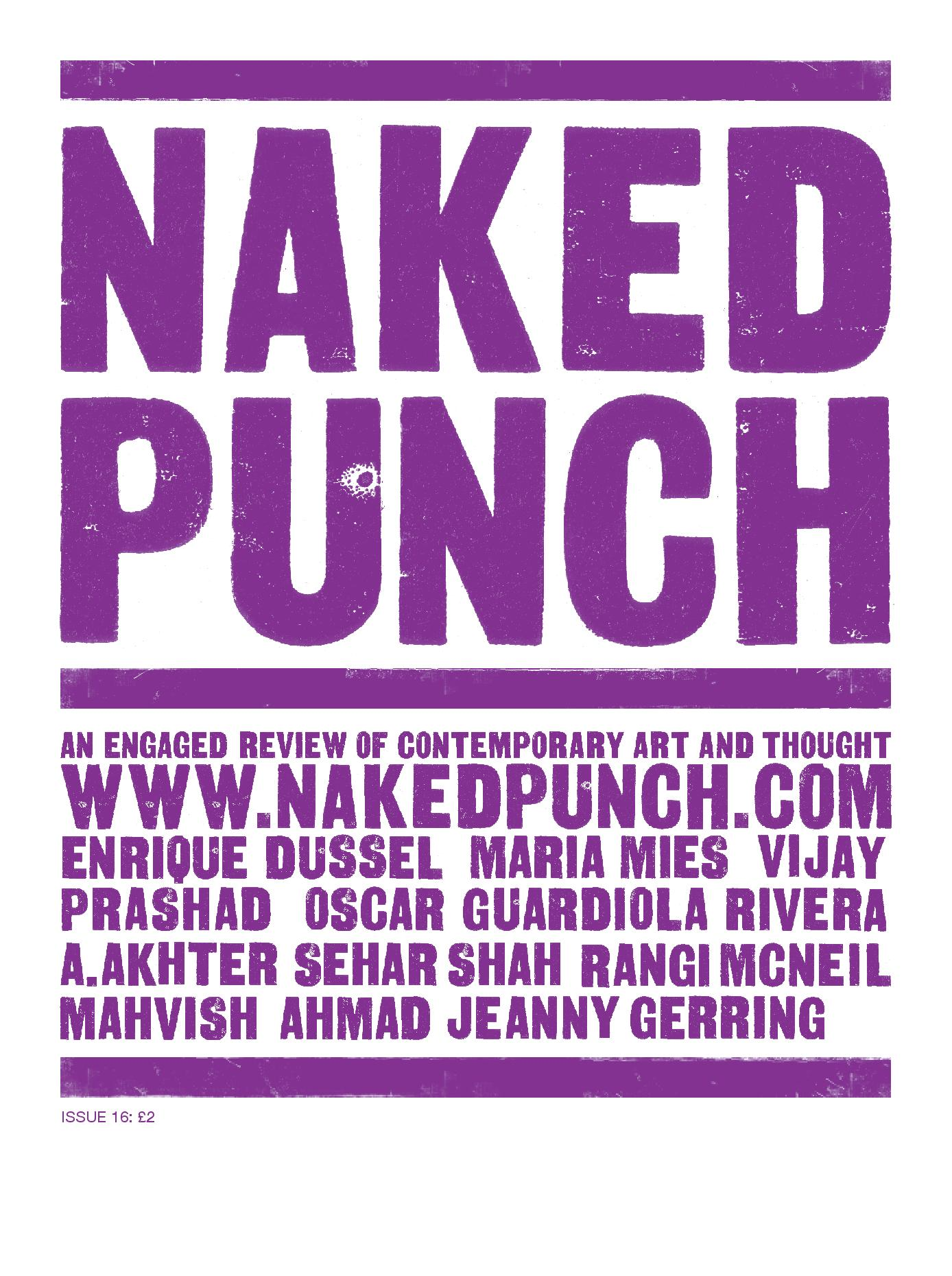 "<a href=""/site/issues/12"">Naked Punch 16</a>"